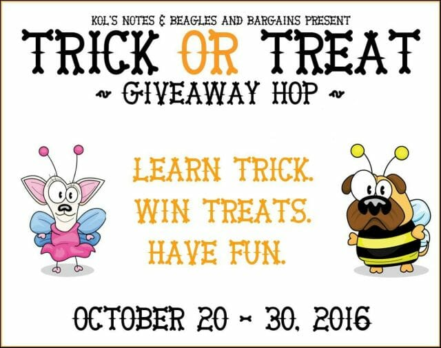 Trick or Treat Giveaway Blog Hop 2016 #TrickorTreatDogs | It's Dog or Nothing