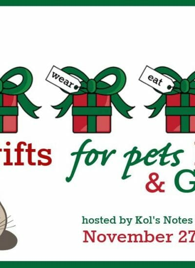 4 Gifts for Pets Blog Hop   2017