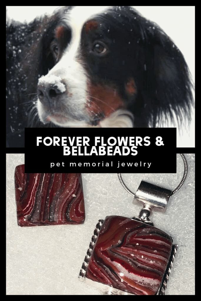 Your furry friend never has to leave your side—even after passing—with Forever Flowers & Bellabeads.